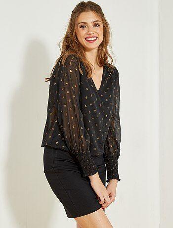2-in-1-jurk met rokje en blouse - Kiabi