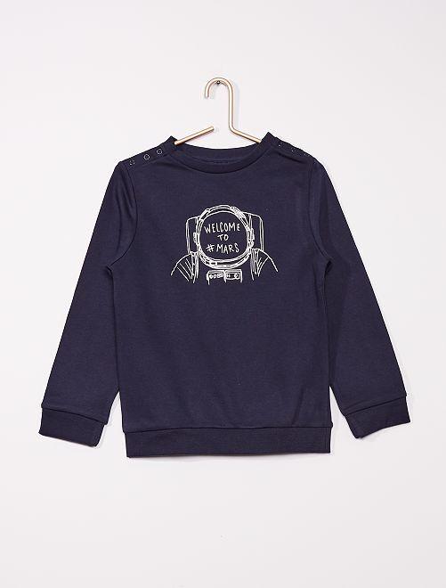 Aangepaste sweater                             BLAUW