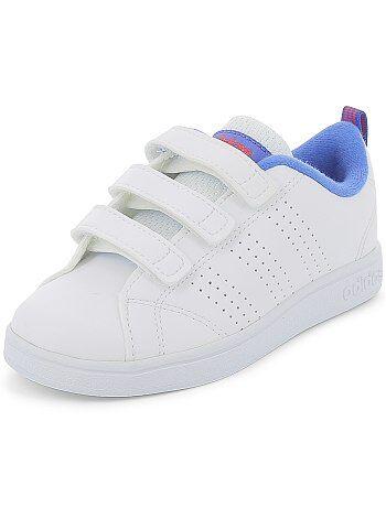 'Adidas VS Advantage Clean' sneakers met klittenband - Kiabi