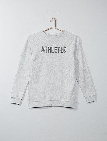 'Athletic' sweater van joggingstof - Kiabi
