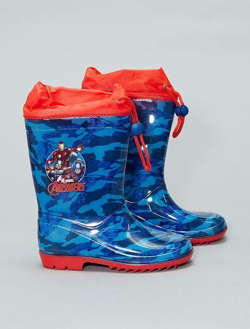 'Avengers'-regenlaarsjes van 'Marvel'                             blauw Schoenen