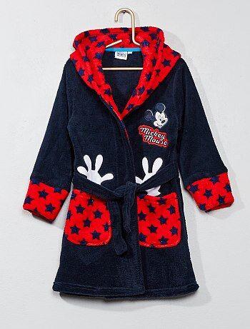 Badjas van fleecestof van 'Mickey' - Kiabi