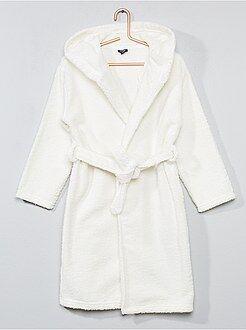 Meisjes pyjama - Badstof badjas met een capuchon - Kiabi
