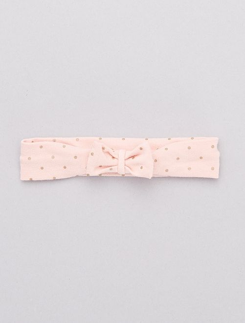 Bandeau met strik                                                                             ROSE
