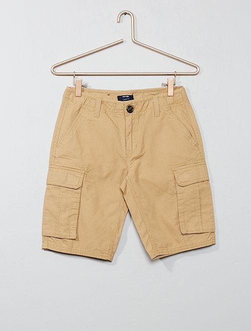 Battle bermuda met comfort fit                                                     BRUIN Kinderkleding jongen