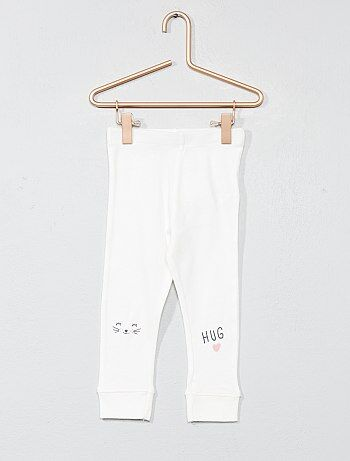 Bedrukte legging van 100% katoen - Kiabi
