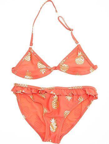 Bikini met ananasprint - Kiabi
