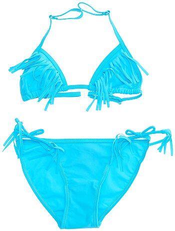 Bikini met driehoekig bovenstukje - Kiabi