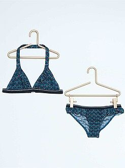 Bikini met etnische print