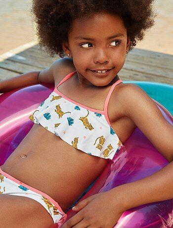 Meisjeskleding 3-12 jaar - Bikini van 'Tijger' - Kiabi
