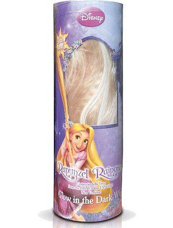 Blonde pruik 'Rapunzel' - Kiabi