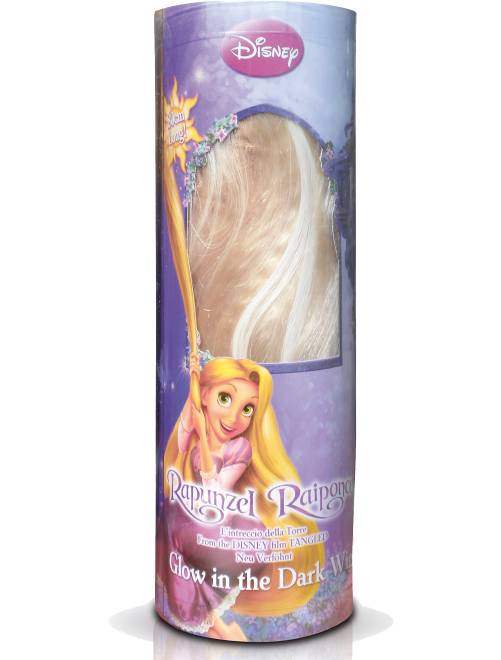 Blonde pruik 'Rapunzel'                             geel Accessoires