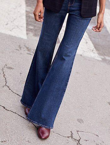 Bootcut jeans met een hoge taille - Kiabi