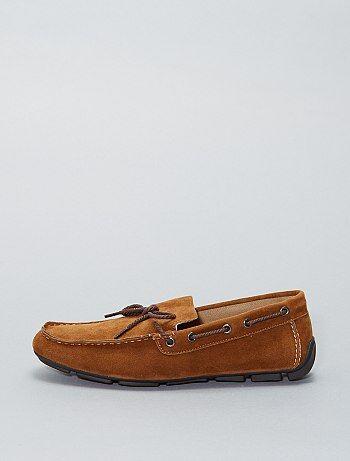 Bootschoenen van suèdine - Kiabi