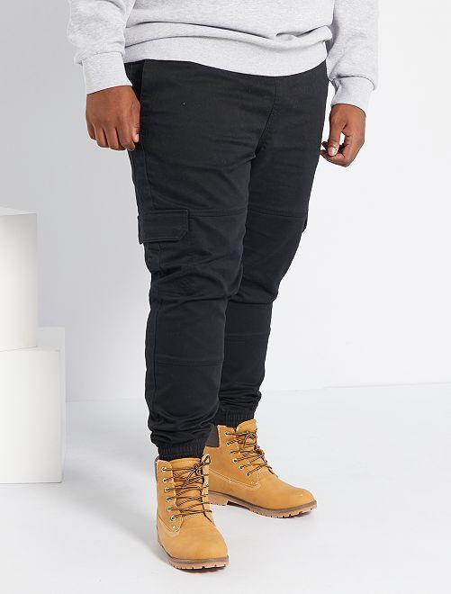 Broek in joggingmodel                             zwart