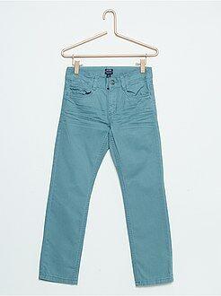 Kinder broeken - Broek van katoen met rechte pasvorm