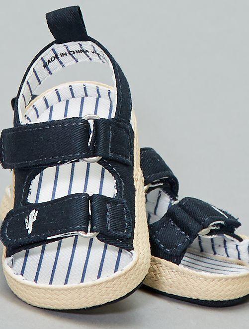 'Cactus'-sandalen                             blauw gestreept Jongens babykleding