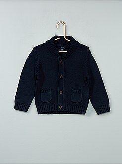 Cardigan van gemêleerd tricot