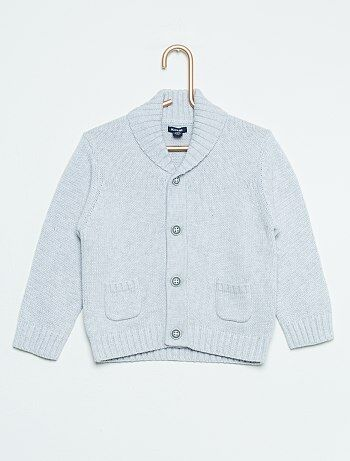 Cardigan van gemêleerd tricot - Kiabi