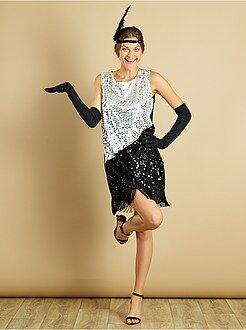 Dames verkleedkleding - 'Charleston' verkleedkostuum