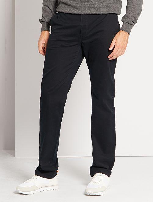 Chino broek L36 +1m90                                                     zwart