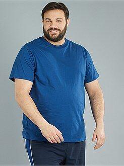 T-shirt - Comfortabel tricot T-shirt - Kiabi