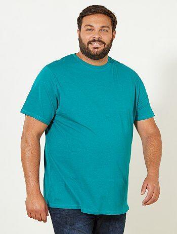 Comfortabel tricot T-shirt - Kiabi