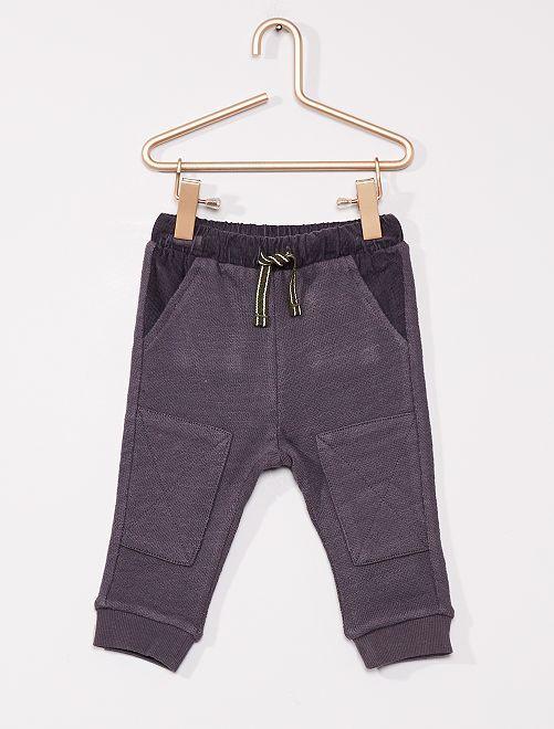 Comfortabele broek 'Ecodesign'                             donkerblauw