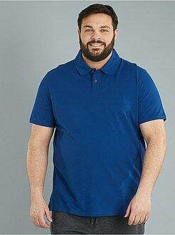 Poloshirt - Comfortabele polo van piquékatoen - Kiabi