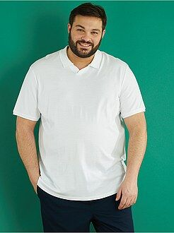 Poloshirt - Comfortabele polo van tricot - Kiabi