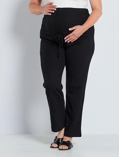 Comfortabele zwangerschapsbroek 'Ecodesign'                                         zwart