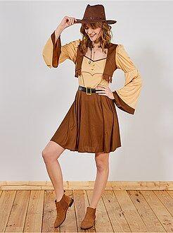 Dames verkleedkleding - Cowboypak voor dames