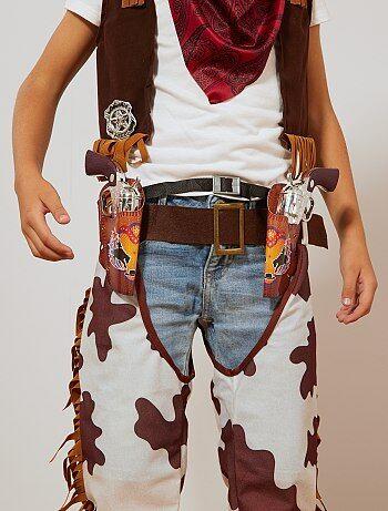 Cowboyset met pistolen, een riem, een badge en holster - Kiabi