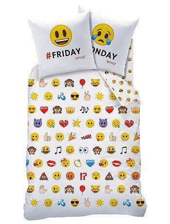 Dekbedovertrekset 'Emoji' - Kiabi
