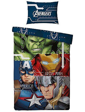 Dekbedovertrekset van 'Avengers' van 'Marvel' - Kiabi