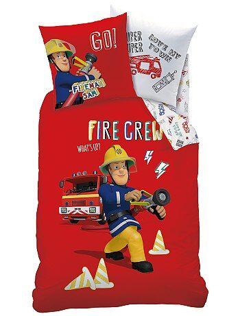 Dekbedovertrekset van 'Brandweerman Sam' - Kiabi