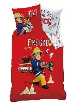 Dekbedovertrekset van 'Brandweerman Sam'