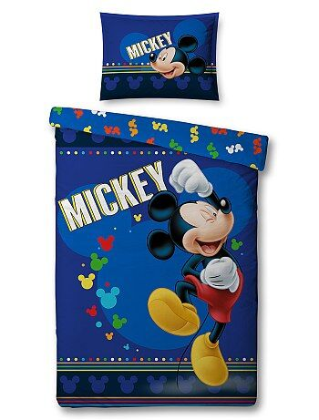 Dekbedovertrekset van 'Mickey Mouse' van 'Disney' - Kiabi