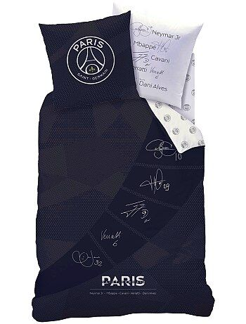 Dekbedovertrekset van 'Paris Saint-Germain', aan twee zijden bedrukt - Kiabi