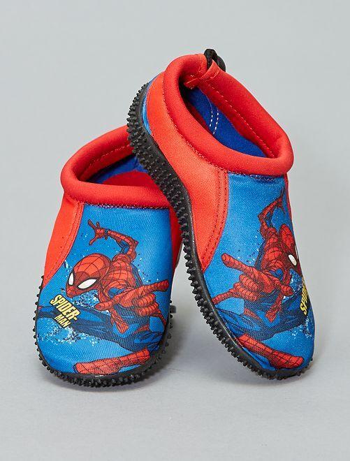 Dichte waterschoenen van 'Spider-man'                             blauw Kinderkleding jongens