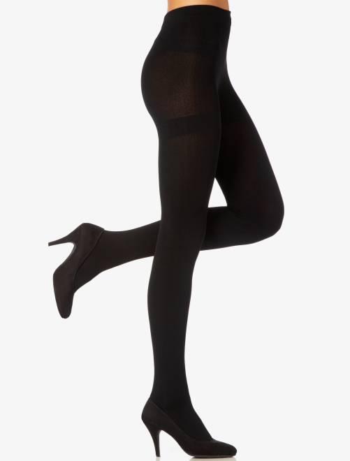 'Dim' fleece maillot                             zwart