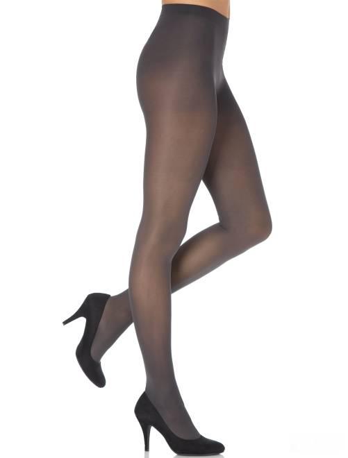 Dim 'Mod'  panty Ondoorschijnend en fluweelzacht 40D                                                                             grijs Lingerie maat s-xxl