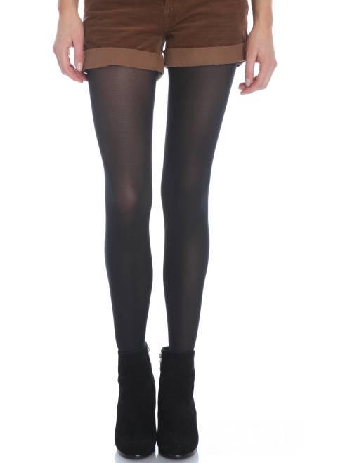 Dim 'Mod'  panty Ondoorschijnend en fluweelzacht 40D                                         zwart