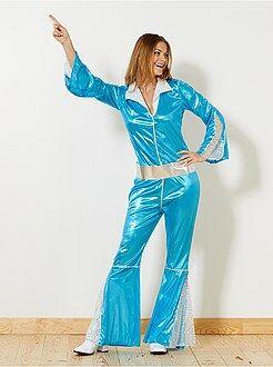 Dames verkleedkleding - Disco verkleedkostuum