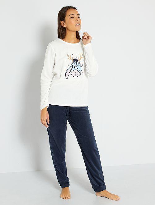 'Disney'-pyjama met geschenkdoosje                                                                 grijsblauw