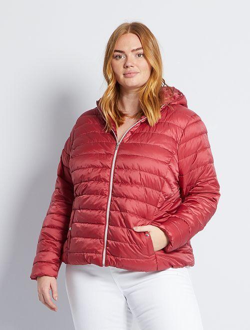 Donsjack 'Ecodesign'                                                                 rood