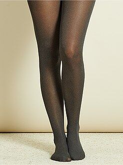 Sokken, panty's - Dunne gemêleerde panty - Kiabi