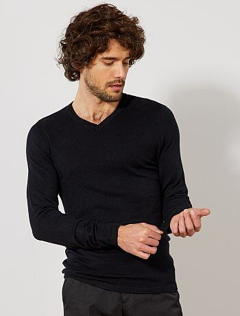 Dunne trui met een V-hals - Kiabi