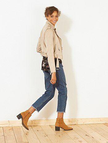 'Ecodesign' mom jeans - Kiabi