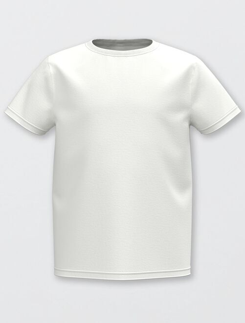Ecologisch ontworpen T-shirt                                 wit